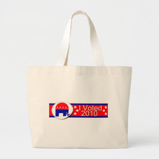 I voted Republican in 2010! Canvas Bag