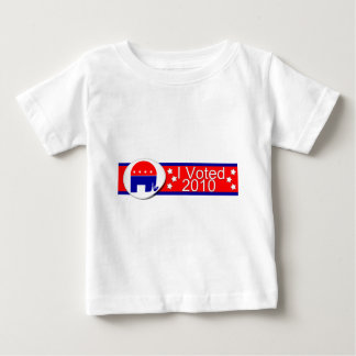 I voted Republican in 2010! Tshirts