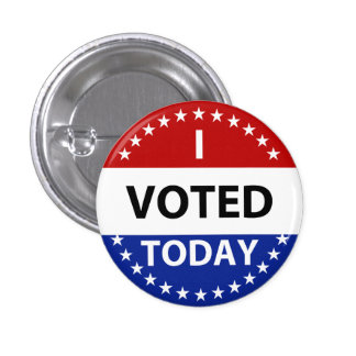 I Voted Today Badge