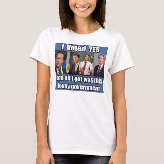 I Voted Yes T-Shirt