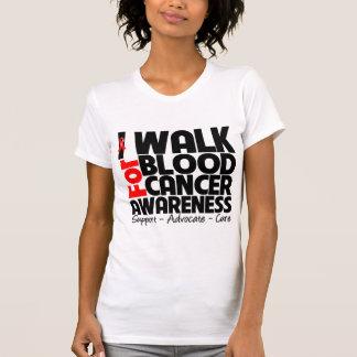 I Walk For Blood Cancer Awareness Shirts