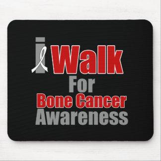 I Walk For Bone Cancer Awareness Mousepads