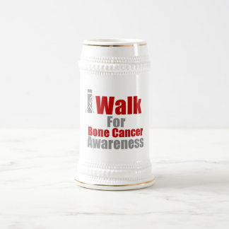 I Walk For Bone Cancer Awareness Mug
