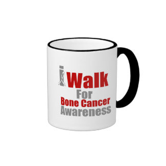 I Walk For Bone Cancer Awareness Coffee Mug