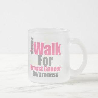I Walk For Breast Cancer Awareness Mugs