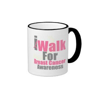 I Walk For Breast Cancer Awareness Coffee Mug