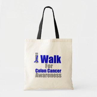 I Walk For Colon Cancer Awareness Bag