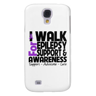 I Walk For Epilepsy Awareness Samsung Galaxy S4 Covers