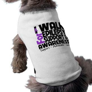 I Walk For Epilepsy Awareness Pet Clothes