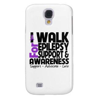 I Walk For Epilepsy Awareness Galaxy S4 Case