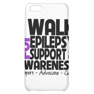 I Walk For Epilepsy Awareness Cover For iPhone 5C