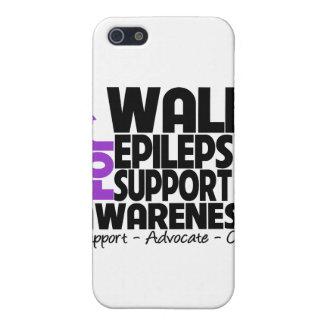 I Walk For Epilepsy Awareness iPhone 5 Cases