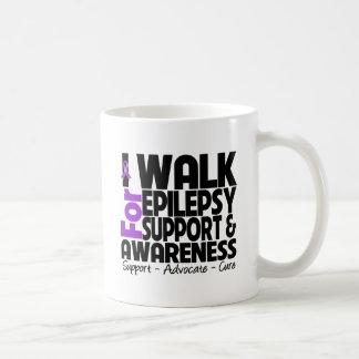 I Walk For Epilepsy Awareness Coffee Mug