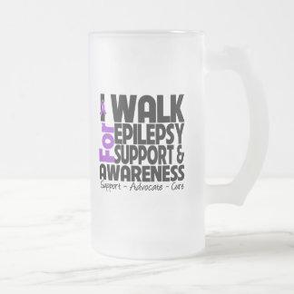 I Walk For Epilepsy Awareness Mug