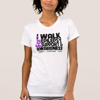 I Walk For Epilepsy Awareness T-shirt