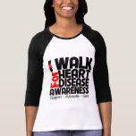 I Walk For Heart Disease Awareness T-Shirt