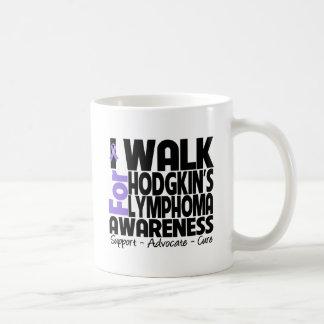 I Walk For Hodgkin's Lymphoma Awareness Coffee Mug