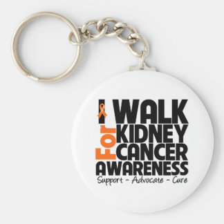 I Walk For Kidney Cancer Awareness 2 Key Chain