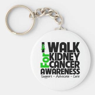 I Walk For Kidney Cancer Awareness Keychain