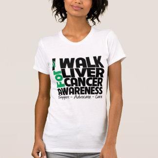 I Walk For Liver Cancer Awareness T-shirt