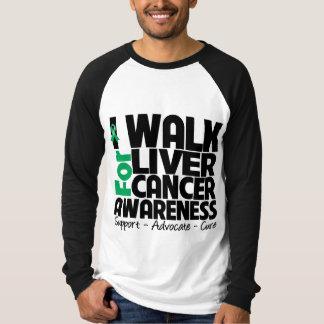 I Walk For Liver Cancer Awareness T Shirt