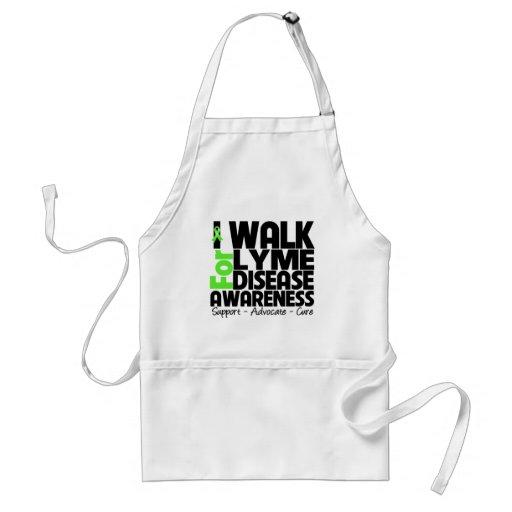 I Walk For Lyme Disease Awareness Apron