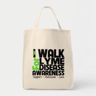 I Walk For Lyme Disease Awareness Tote Bag