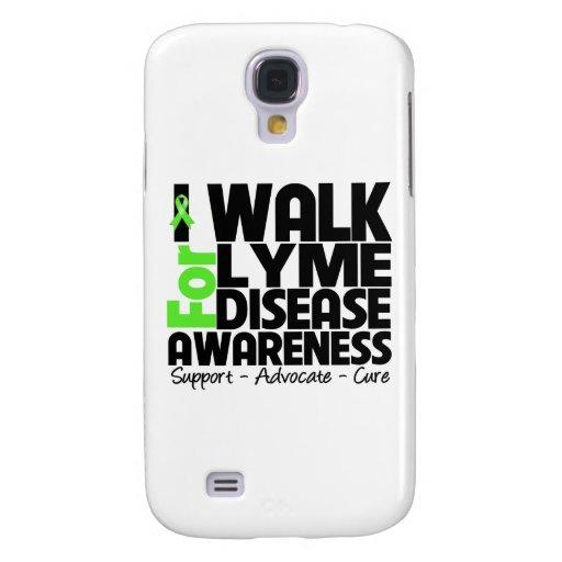 I Walk For Lyme Disease Awareness Samsung Galaxy S4 Case