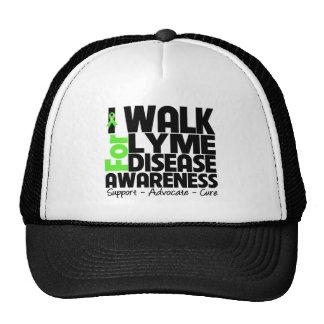 I Walk For Lyme Disease Awareness Mesh Hat