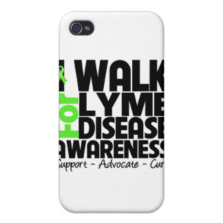 I Walk For Lyme Disease Awareness Cover For iPhone 4