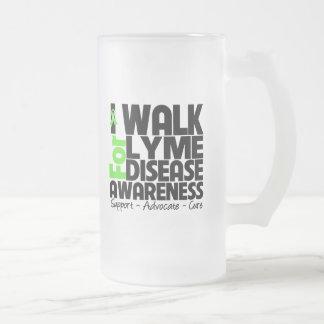I Walk For Lyme Disease Awareness Coffee Mugs