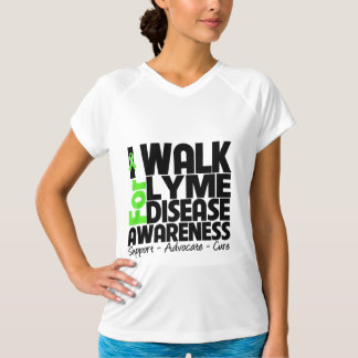 I Walk For Lyme Disease Awareness Shirts