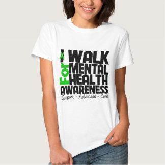 I Walk For Mental Health Awareness T Shirt