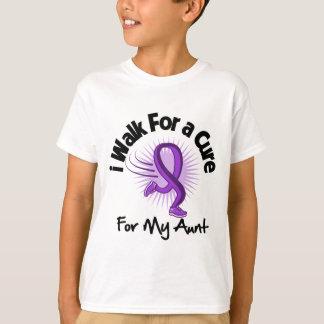 I Walk For My Aunt - Purple Ribbon Tshirts