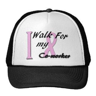 I walk for my coworker trucker hats