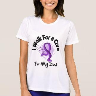 I Walk For My Dad- Purple Ribbon Tee Shirts