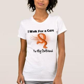 I Walk For My Girlfriend - Leukemia Tshirts