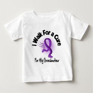 I Walk For My Grandmother - Purple Ribbon T-shirts