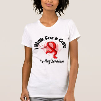 I Walk For My Grandson - Heart Disease Tee Shirts
