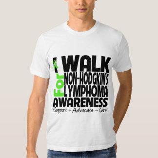 I Walk For Non-Hodgkin's Lymphoma Awareness T-shirt