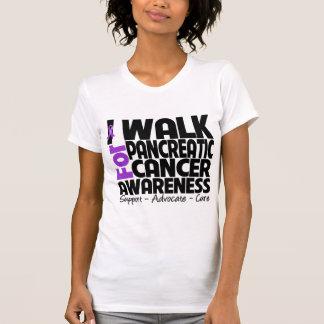 I Walk For Pancreatic Cancer Awareness Tshirt