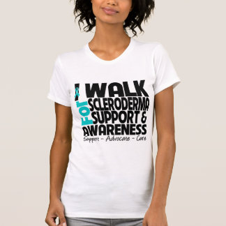 I Walk For Scleroderma  Awareness Tshirts