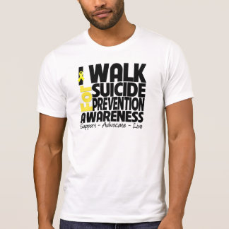 I Walk For Suicide Prevention Awareness Tees