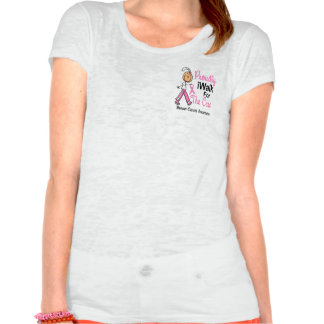 I Walk For The Cure Breast Cancer SFT Tee Shirt