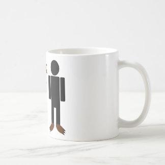 I walk in my bear feet coffee mug