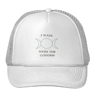 I walk with the goddess hats