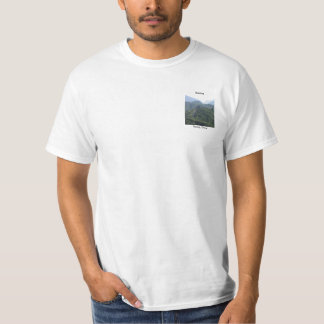 I walked the Great Wall - Mens T-Shirt