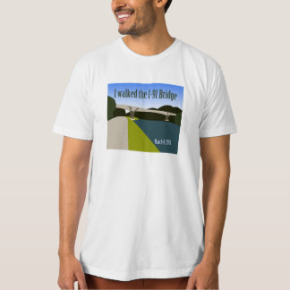 """I Walked the I-91 Bridge"" T-Shirt"