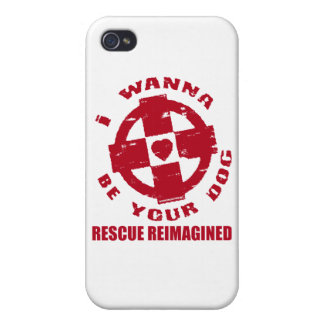 I WANNA BE YOUR DOG CASE FOR iPhone 4