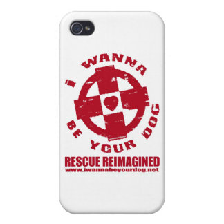 I WANNA BE YOUR DOG iPhone 4 CASE